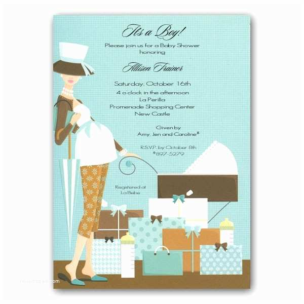 Minted Baby Shower Invitations Stroller Pregnant Mama Mint Baby Shower Invitations