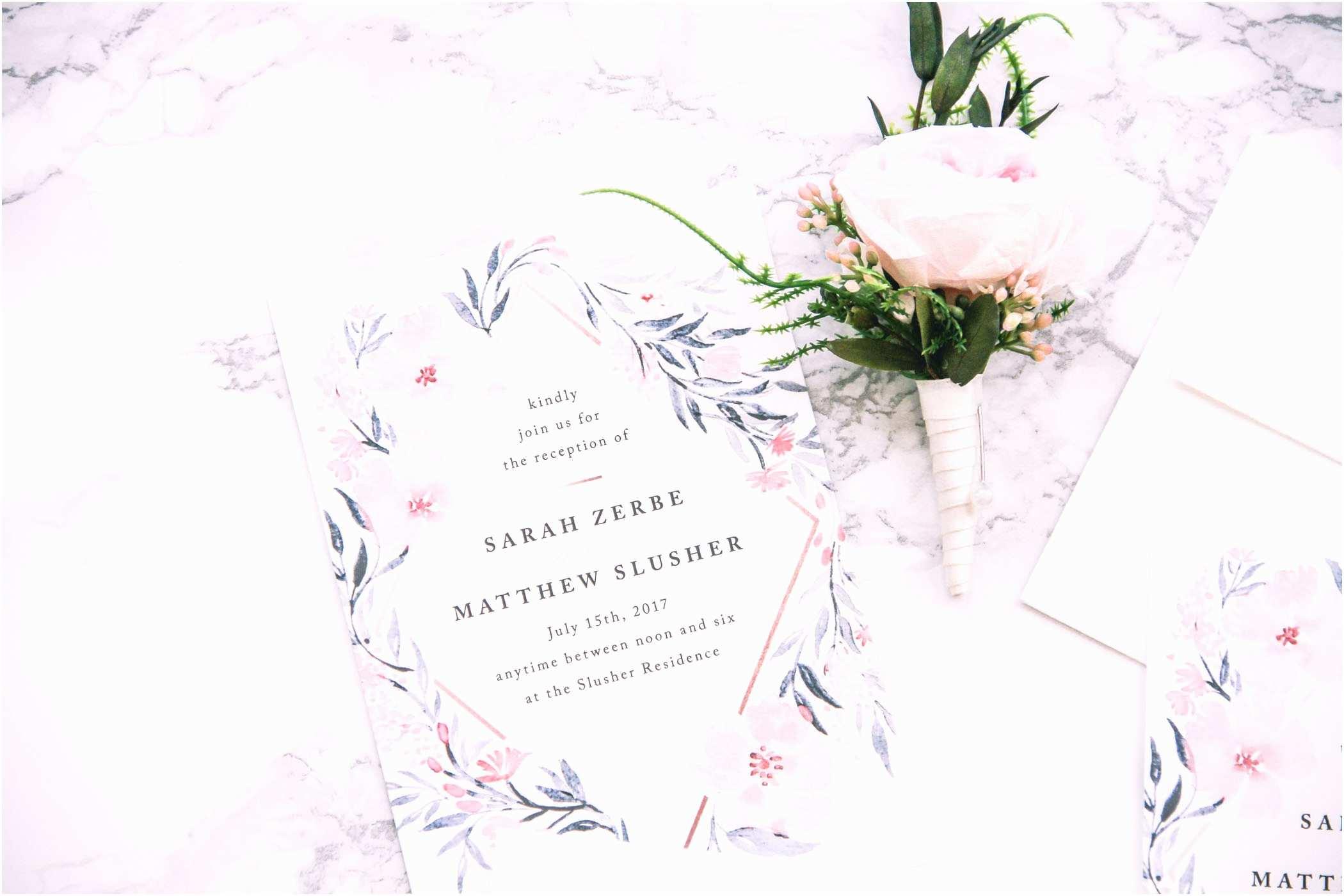 Minted Wedding Invitations Custom Wedding Invitations with Minted A Bud