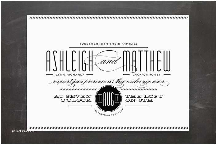 Minted Wedding Invitations Look to Minted for Your Wedding Invitations