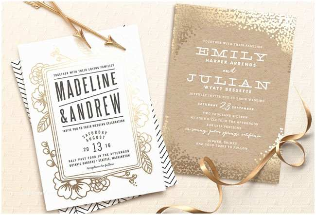 Minted Wedding Invitations Our Favorite Wedding Invitations From Minted A $3500