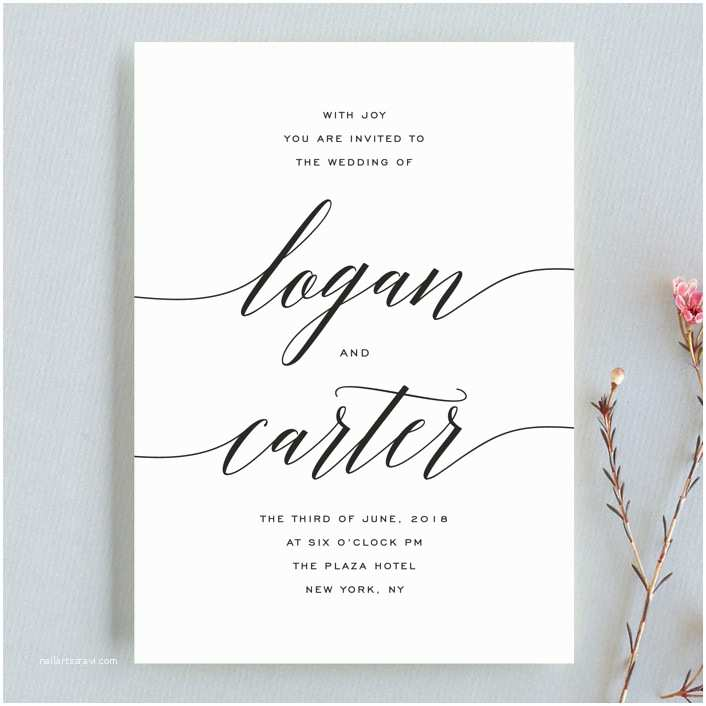 Minted Wedding Invitations someone Like You Wedding Invitation Petite Cards by Design