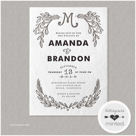 win 350 to minted wedding invitations l 8609 l 36