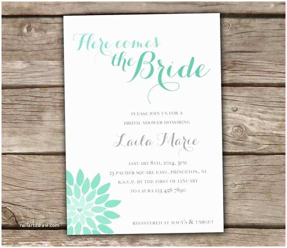 Minted Wedding Shower Invitations 25 Best Ideas About Mint Bridal Showers On Pinterest
