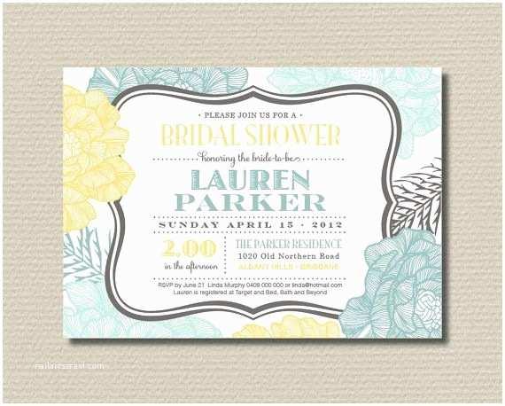 Minted Wedding Shower Invitations Best 25 Mint Bridal Showers Ideas On Pinterest