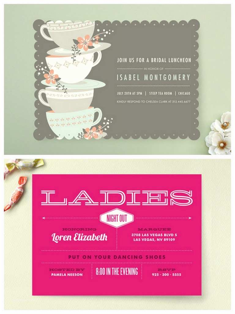 Minted Wedding Shower Invitations Bridal Shower and Bachelorette Invitations by Minted