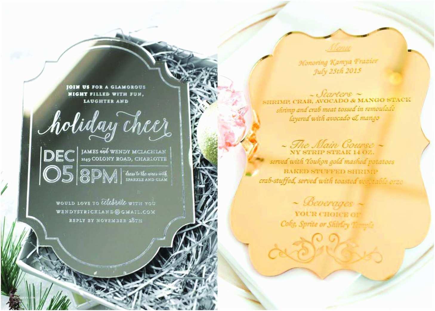 Mirror Wedding Invitations 25 Beautiful Mirror Wedding Ideas by Doltone House
