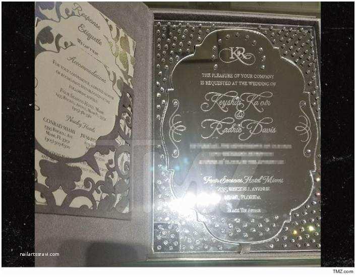 Mirror Wedding Invitations Gucci Mane Shells Out $1k for Each Mirror Inspired Wedding