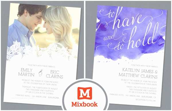 Mixbook Wedding Invitations Looking for Custom Wedding Invitations then Check Out