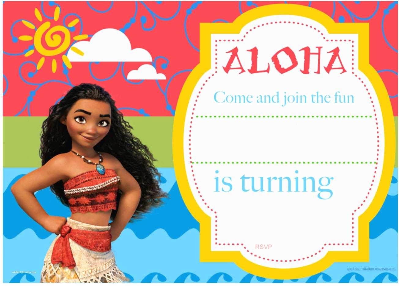 Moana Party Invitations Free Printable Moana Birthday Invitation and Party Ideas