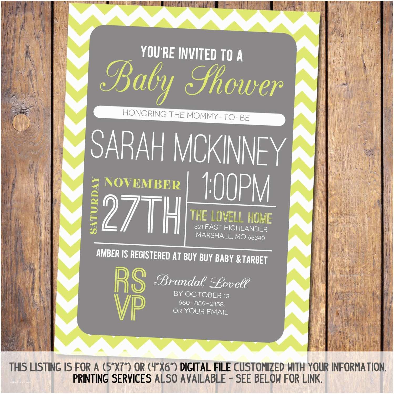 Modern Baby Shower S Chevron Baby Shower  Modern Baby Shower
