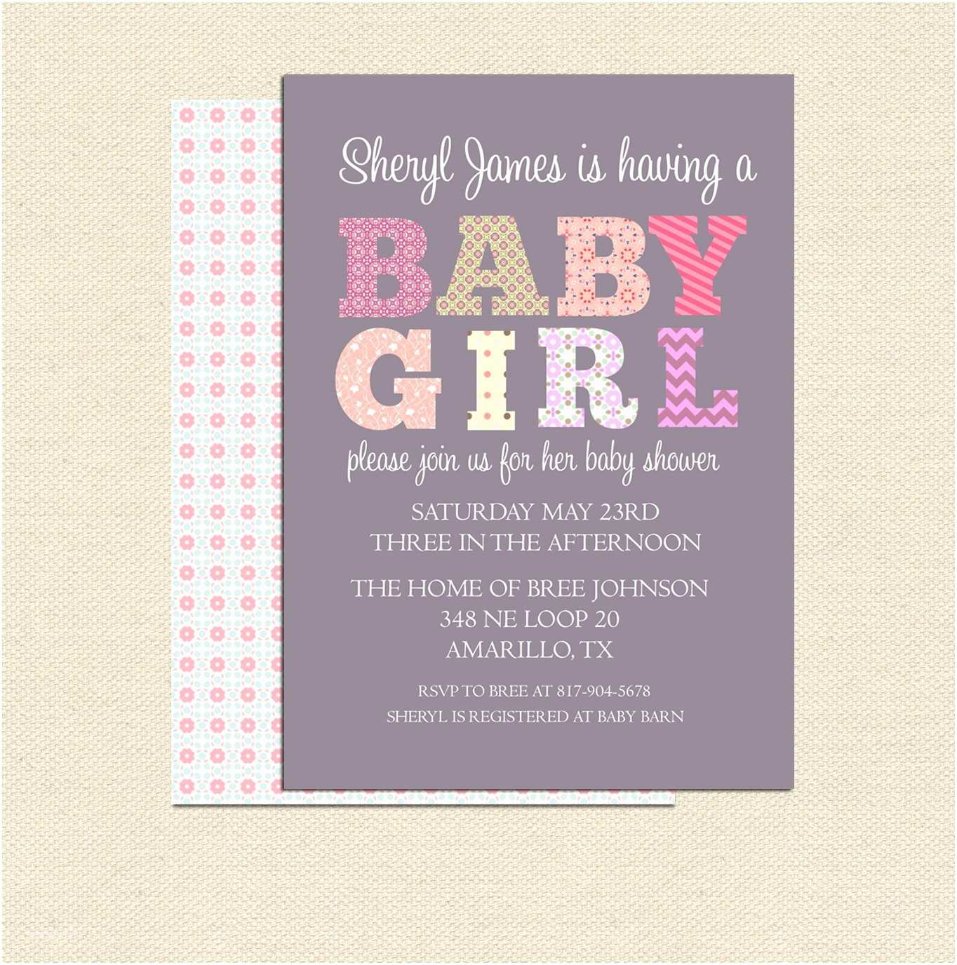Modern Baby Shower Invitations Modern Baby Shower Ideas And