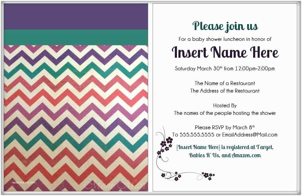Modern Baby Shower Invitations Mom Mart Diy Modern Purple Baby Shower