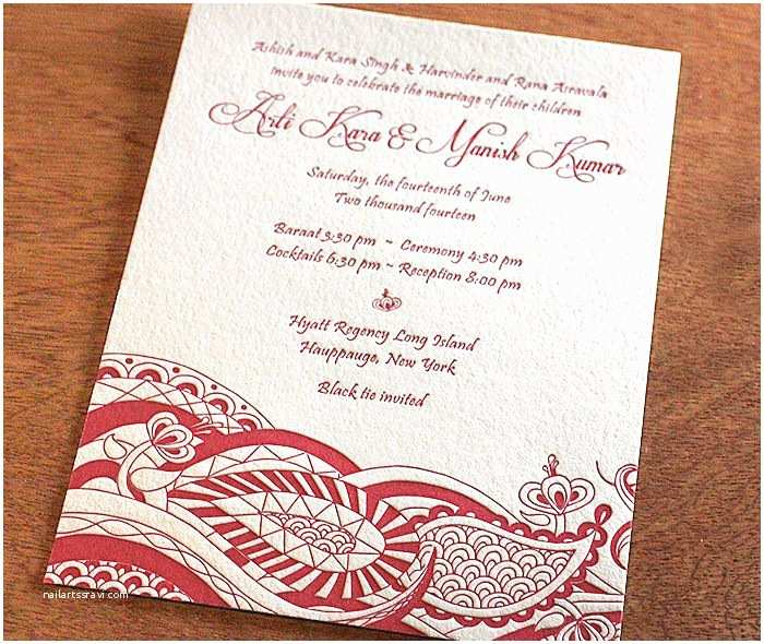 Modern Indian Wedding Invitations 17 Best Images About Invitation Style south asian On