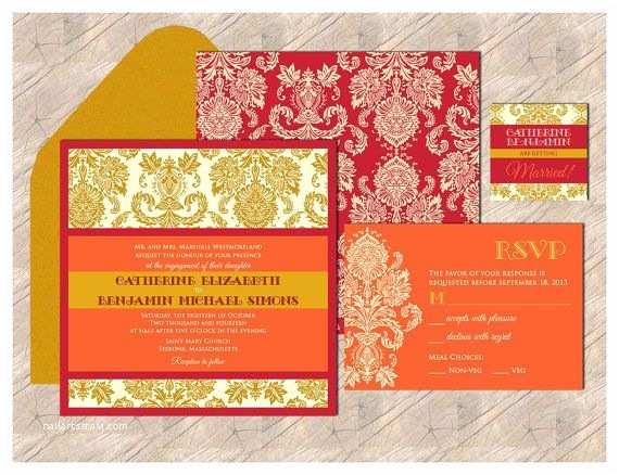 Modern Indian Wedding Invitations Contemporary Jewels Collection An Elegant Pocket
