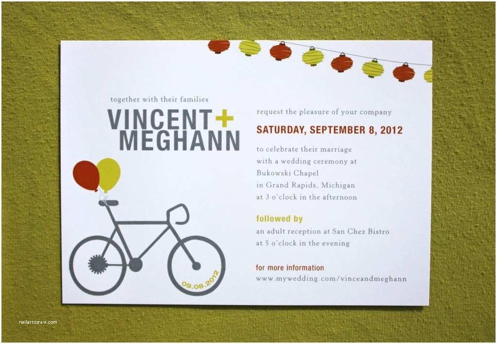 Modern Wedding Invitation Design Modern Wedding Invitation Wording