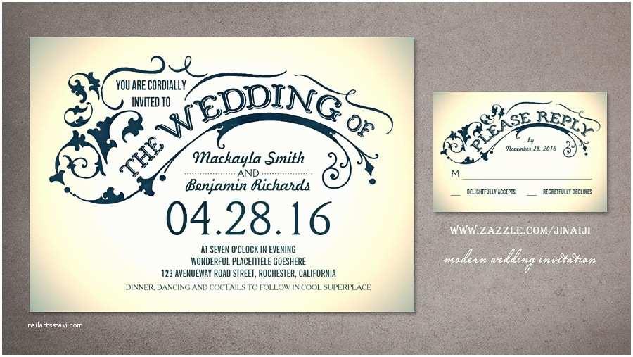 Modern Wedding Invitation Design Wonderful Modern Wedding Invites