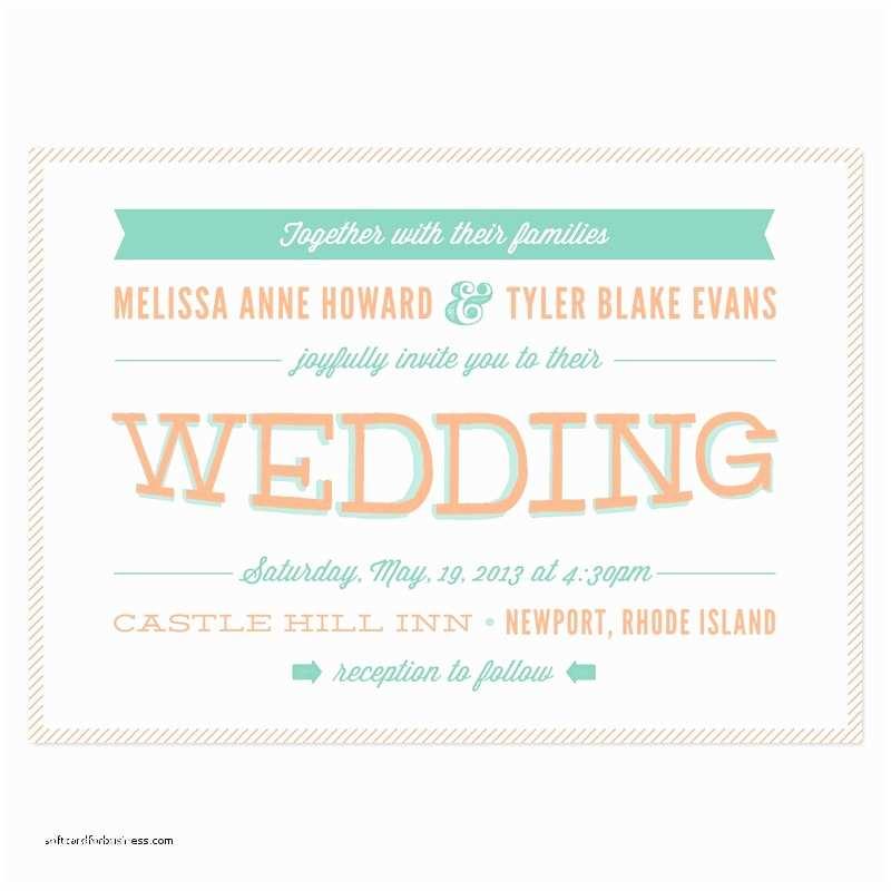 Modern Wedding Invitation Wording Best Ceremony