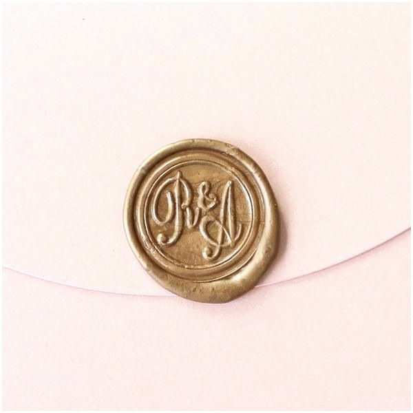 Monogram Seals for Wedding Invitations 25 Best Ideas About Personalized Wedding Gifts On