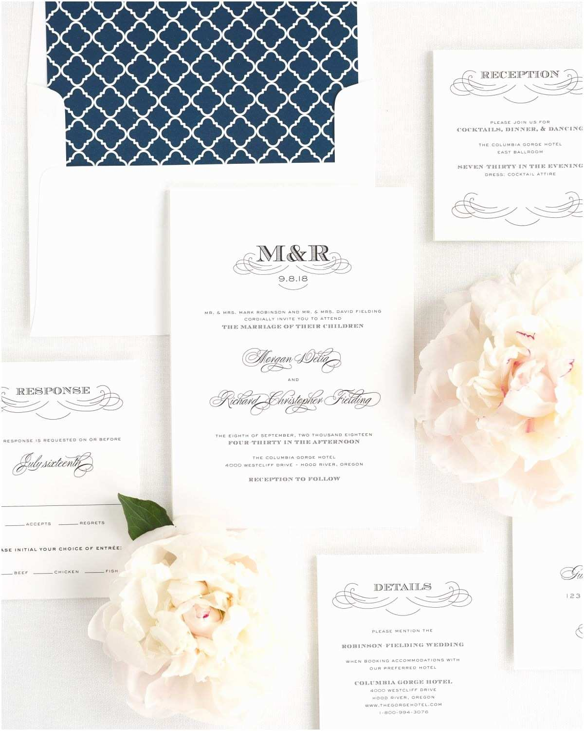 Monogram Wedding Invitations Antique Monogram Wedding Invitations Wedding Invitations