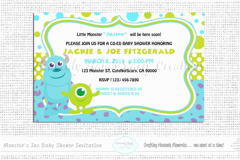 Monster Baby Shower Invitations Little Monsters Baby Shower Digital Invitation