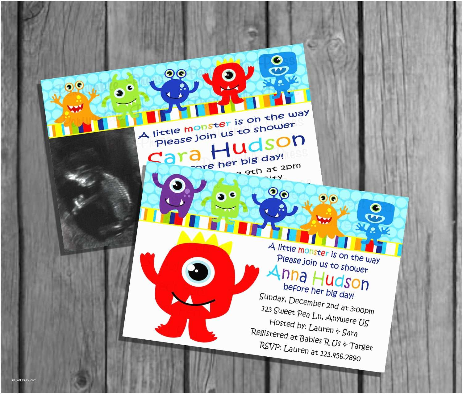 Monster Baby Shower Invitations Monster Baby Shower Invitations Monster Baby Shower