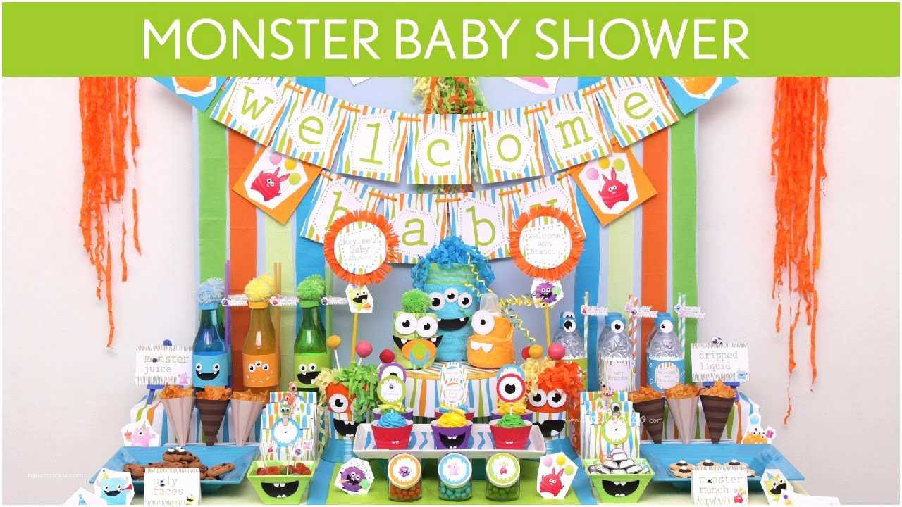Monster Baby Shower Invitations Monsters Inc Baby Shower Invitations