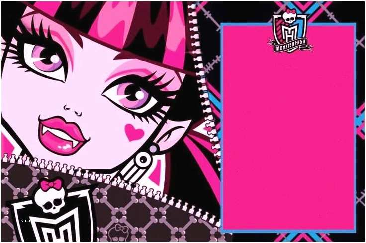 Monster High Birthday Invitations Party