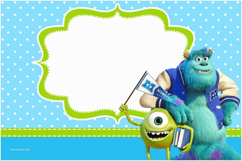 Monsters Inc Baby Shower Invitations Monsters Inc Baby Shower Invitations – Gangcraft