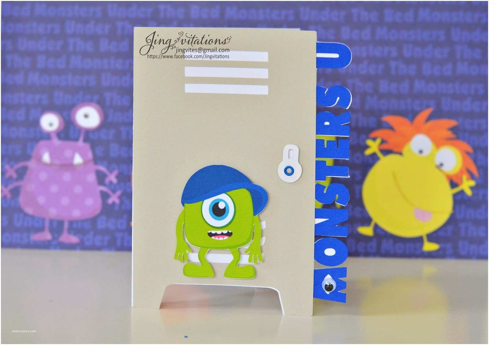 Monsters Inc Baby Shower Invitations Monsters Inc Baby Shower Invitations