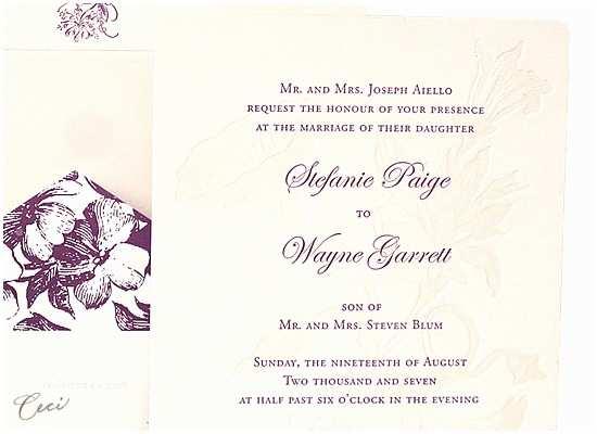 Morning Wedding Invitations Morning Glory Wedding Invitations Botanical