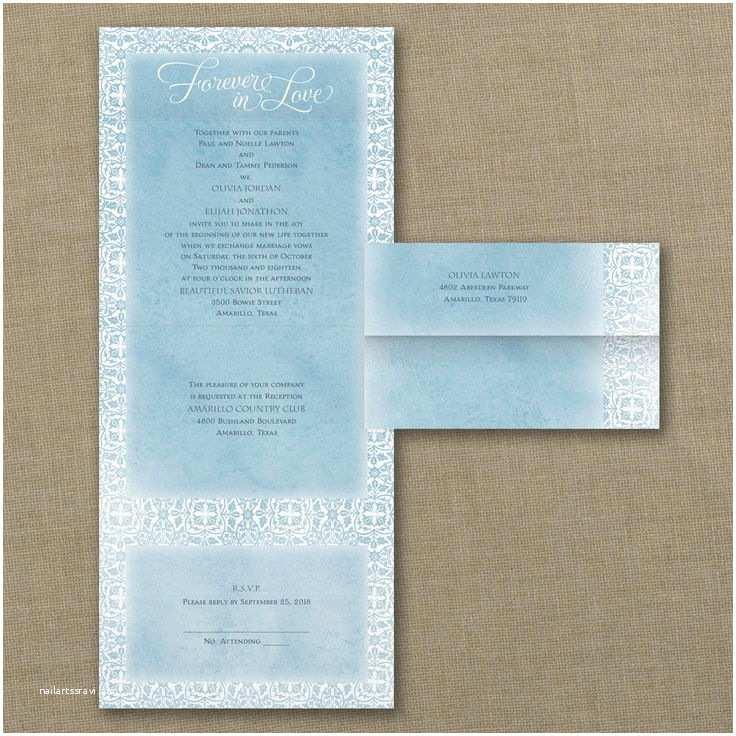Morning Wedding Invitations Morning Wedding Ideas Watercolor Damask Seal N Send