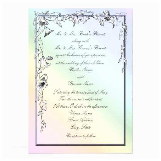 Morning Wedding Invitations Rainbow Theme Invitations 475 Rainbow Theme