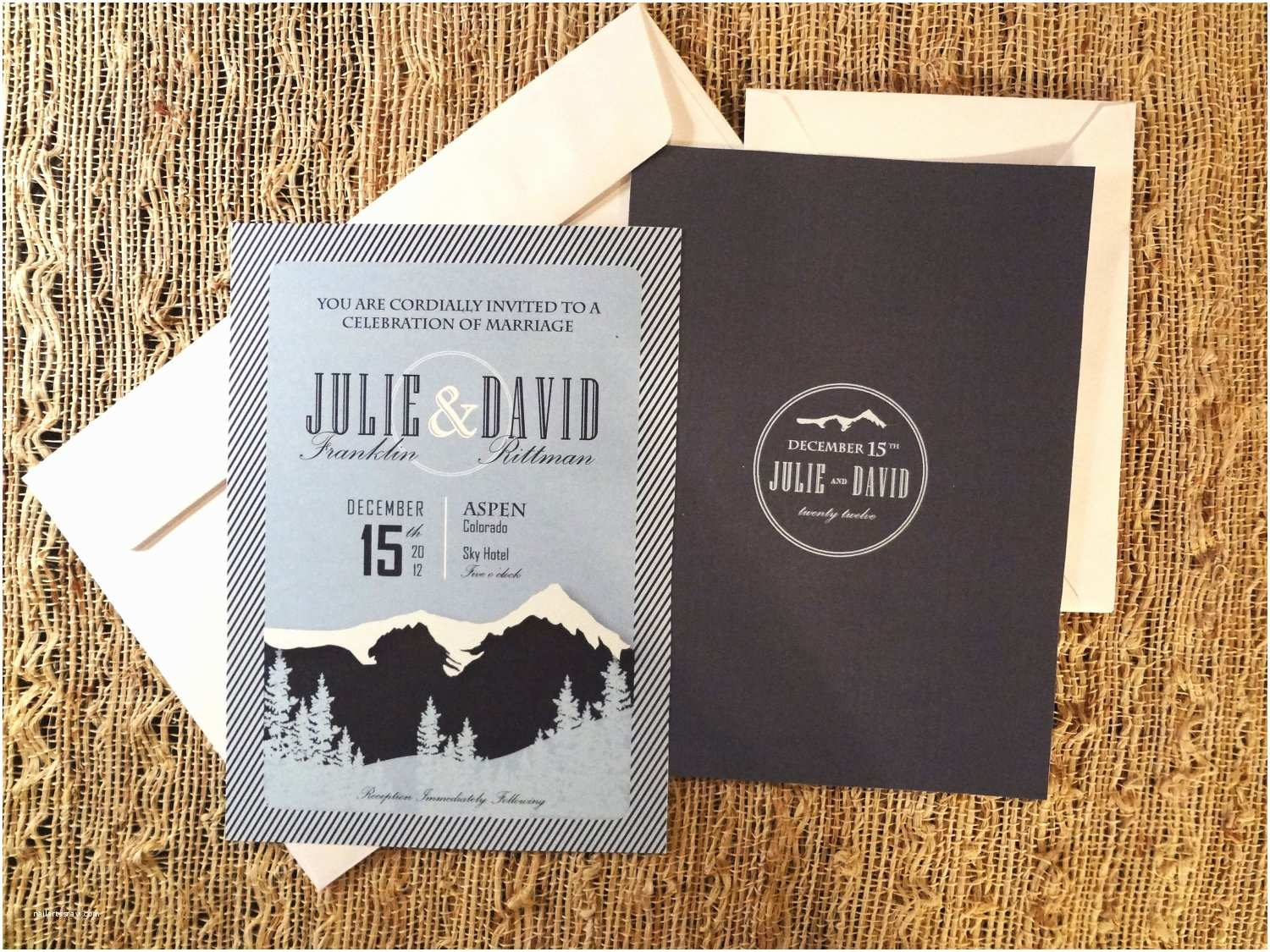 Mountain Wedding Invitations Create Own Mountain Wedding Invitations Designs Ideas