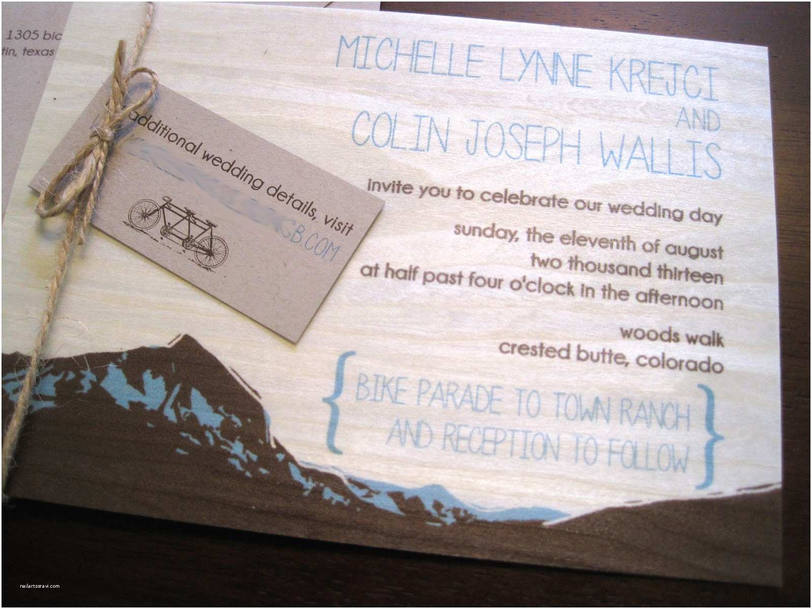 Mountain Wedding Invitations the Inviting Pear Blog Mountain Wedding Invitations