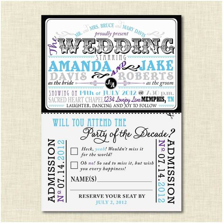 Movie Theater Wedding Invitations 17 Best Images About Wedding Theatre On