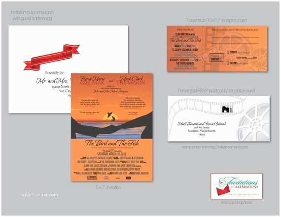 Movie Theater Wedding S Items Similar To Movie Theater Poster Wedding