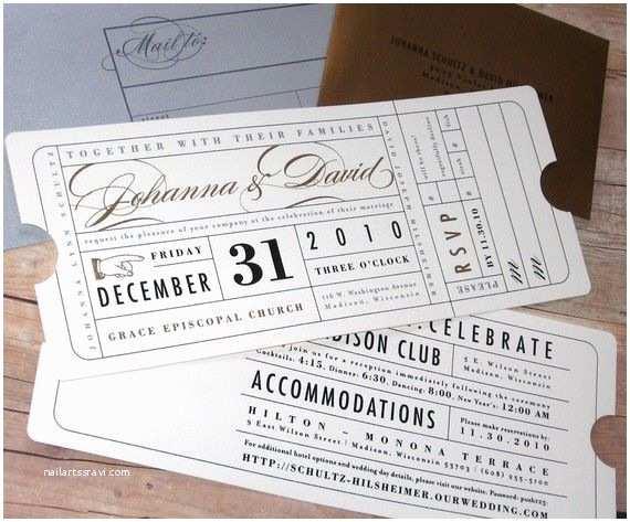 Theater Wedding Invitations Ticket Wedding Invitation Hollywood Theater