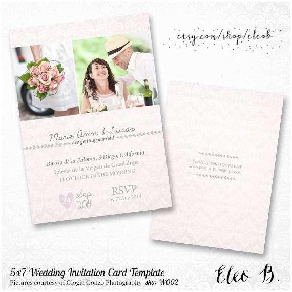 Mpix Wedding Invitations 5x7 Wedding Invitation Template Shop Wedding