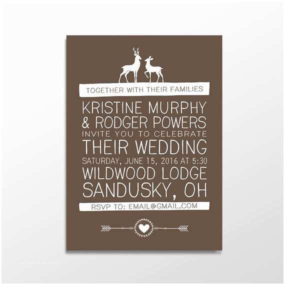 Mpix Wedding Invitations Rustic Wedding Invitation Woodland Wedding Invitation