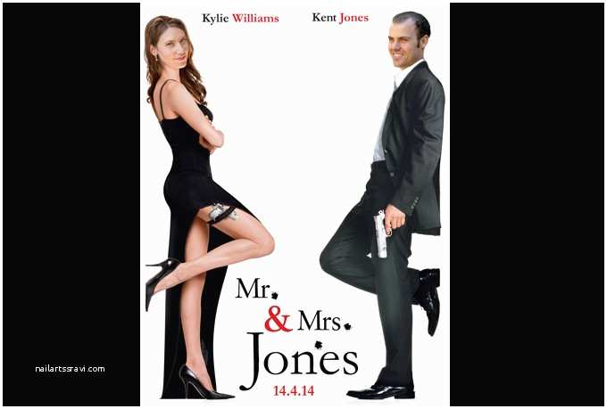 Mr and Mrs Smith Wedding Invitations Create A Custom Mr and Mrs Smith Movie Poster Card Fiverr