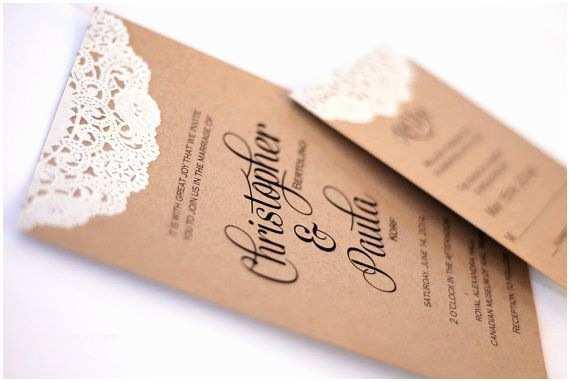 Mr And Mrs Smith Wedding Invitations Custom Rustic Modern Wedding Invitations By Postscripts