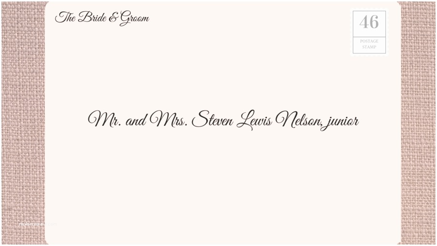 Mr and Mrs Smith Wedding Invitations How to Address Wedding Invitations southern Living