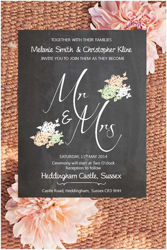 Mr and Mrs Wedding Invitations 167 Best Images About Shabby Chic Wedding Invitations On