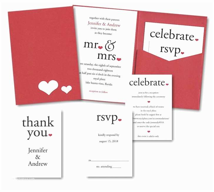 Mr and Mrs Wedding Invitations Mr & Mrs Pocket Wedding Invitation Nice Wedding