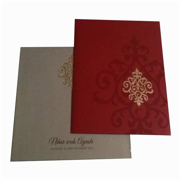 Multi Color Wedding Invitations Black Red Gold Multi Color Invitation 485