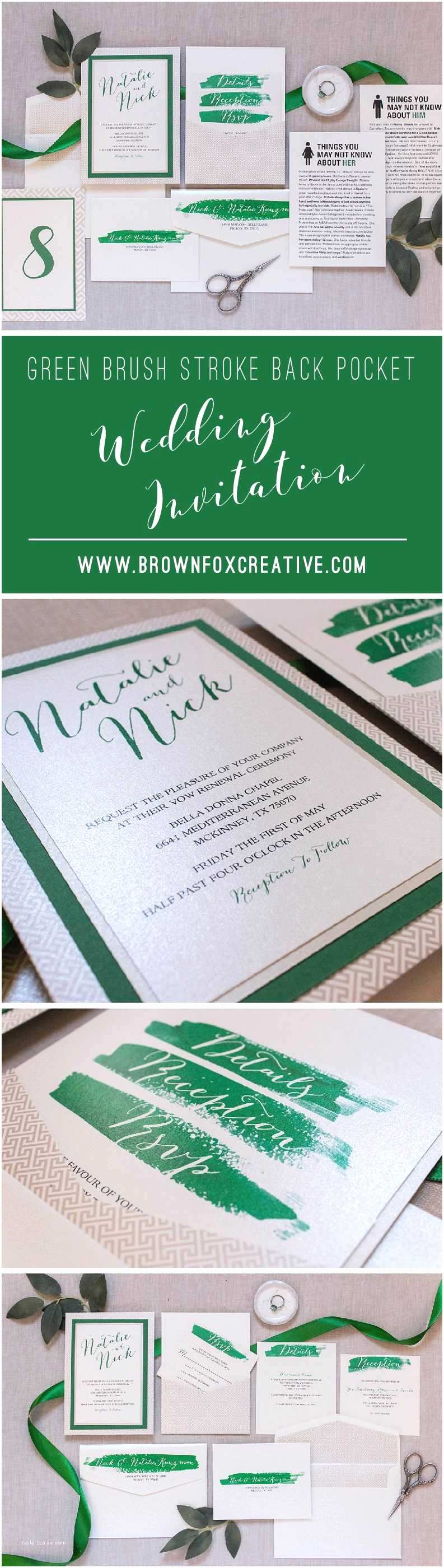 Multi Color Wedding Invitations Multi Color Wedding Invitations Lovely 5x7 Green and