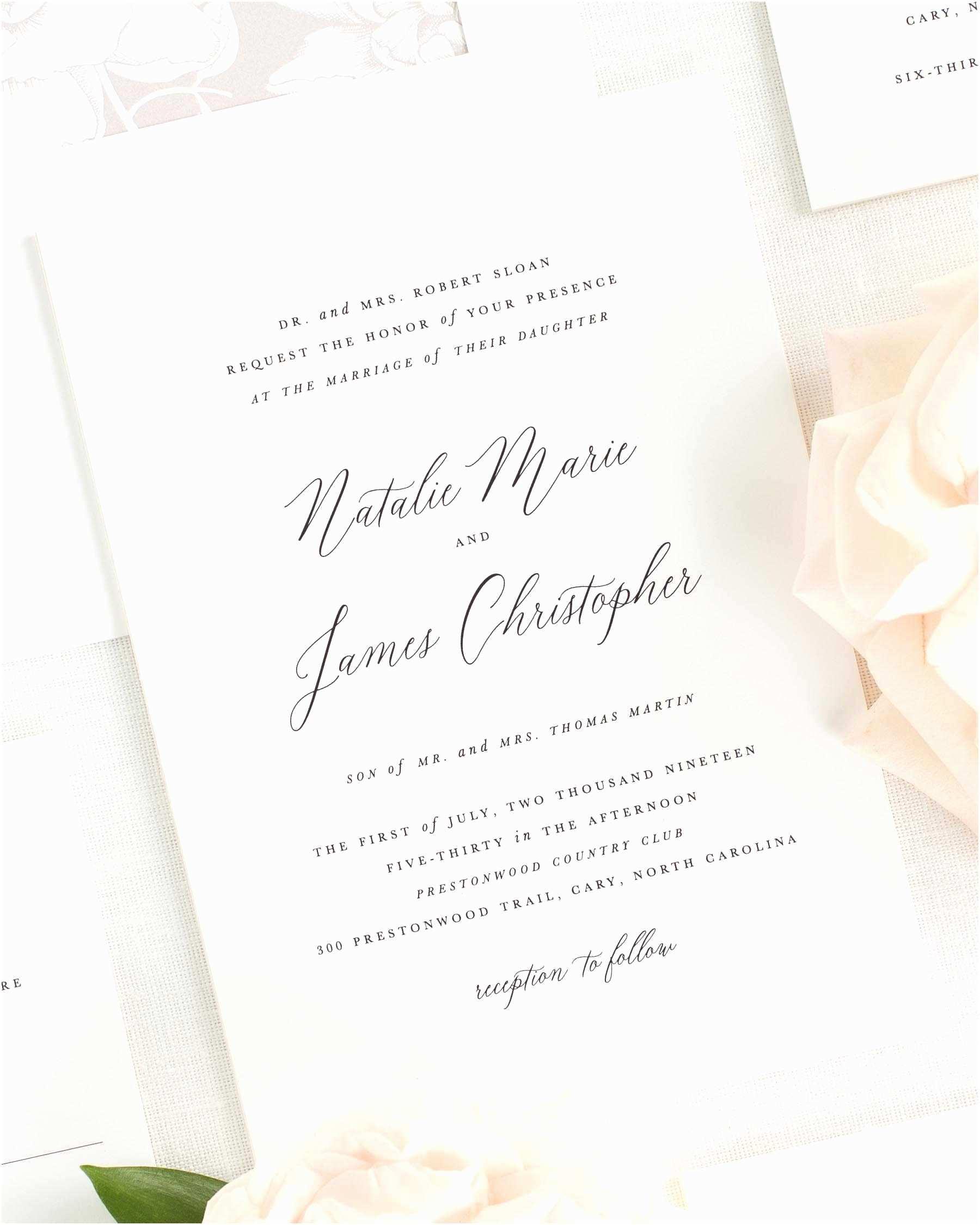 Multi Color Wedding Invitations Multi Color Wedding Invitations New Natalie Wedding