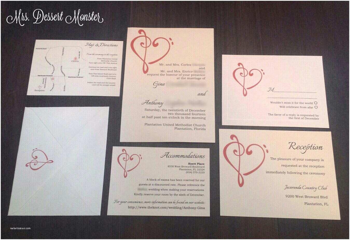 Music themed Wedding Invitations 10 Stirring Music themed Wedding Invitations which Popular