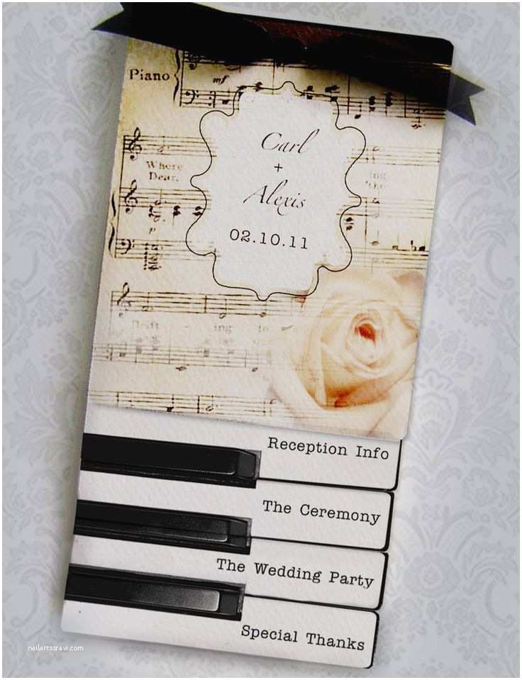 Music themed Wedding Invitations 25 Best Ideas About Music Wedding Invitations On