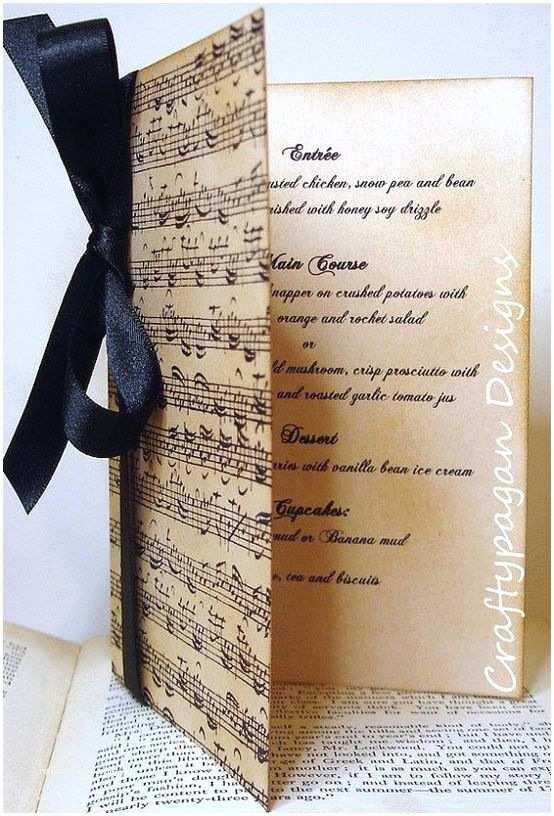 Music themed Wedding Invitations Cute Invitations for A Music themed Wedding